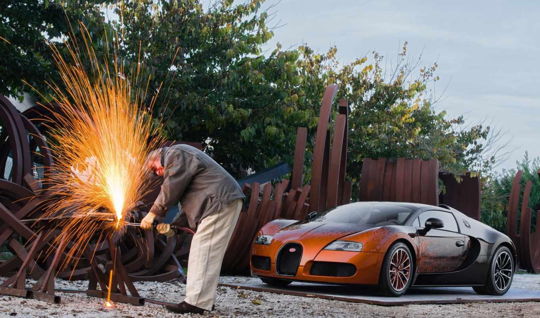 искусства, bugatti, работать, быстрое, самое, дек, art, company,