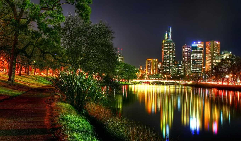 город, ночной, ночь, города, дома, городов,