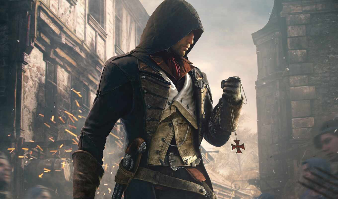 assassin, creed, unity, arno,