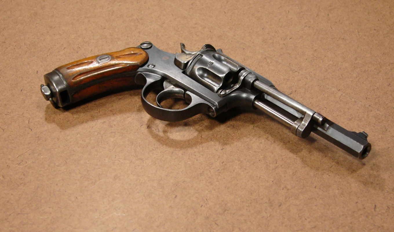 swiss, оружие, revolver, обои, ordnance, model, ре