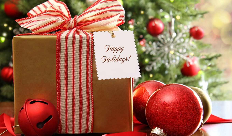 год, новый, подарки, праздник, рождество, декорация, украшения, новогодняя, елка, гирлянды, шарики, огни, елочные,