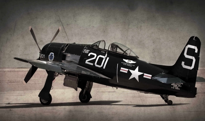 bearcat, black, ea, heart, sur, 飞机战斗机,
