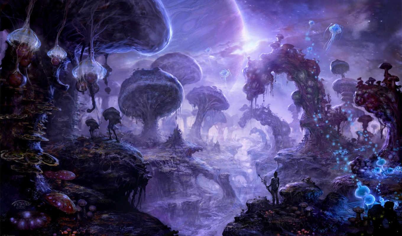 грибы, art,