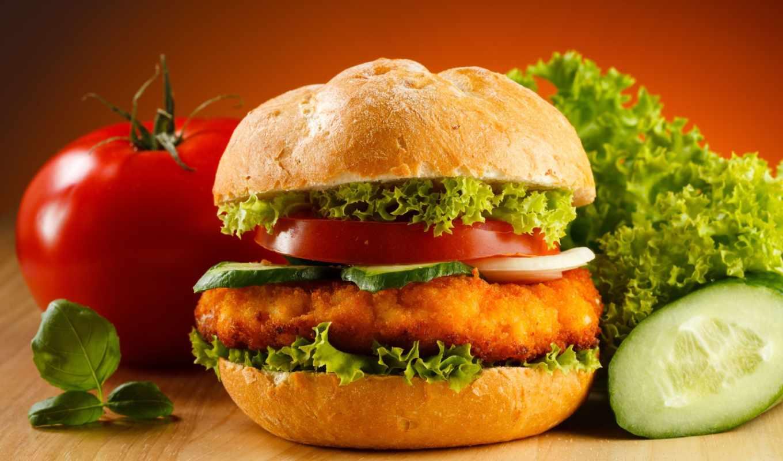burger, гамбургер,, card,