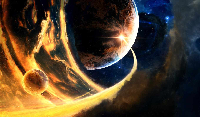 art, sci, science, фантастика, abstract, stars, космос, futuristic, planets,