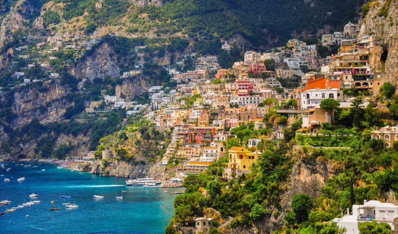 positano, позитано, italy, campania, побережье, amalfi, campaign, salerno, залив, italian, города,