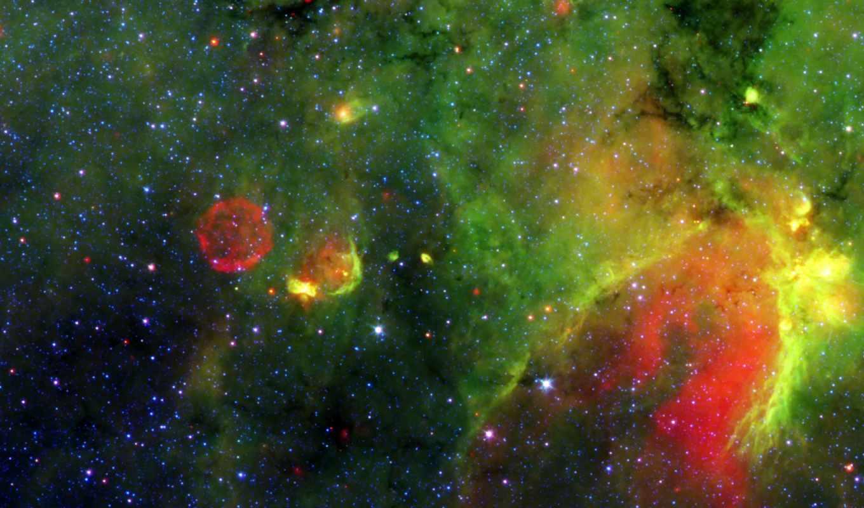 космос, туманность, зеленое, газ, картинка, картинку, антиматерия, мыши, кнопкой, есть, similar,