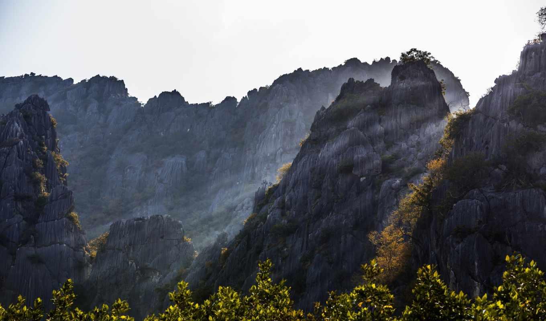 природа, горы, таиланд, mountains, тайланд, prachuap, размере, khiri, khan, истинном, джексон, обою, far, гора, смотреть,