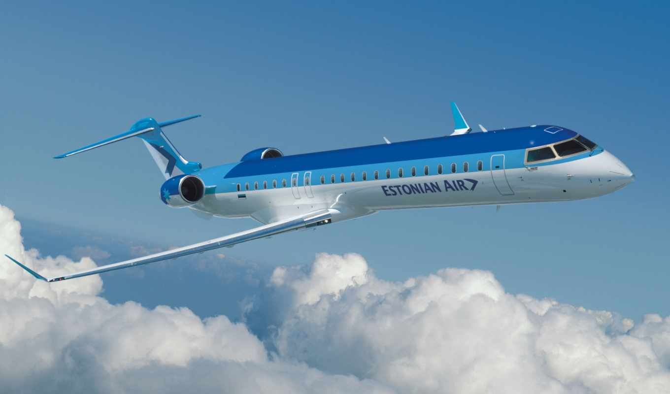 estonian, air, crj, авиация, aerospace, bombardier,