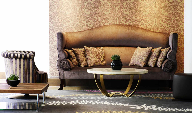 interer, мебель, комната, stil, dizain, диван,