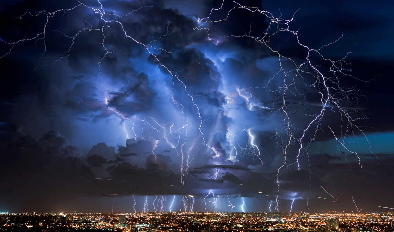 молнии, lightning,