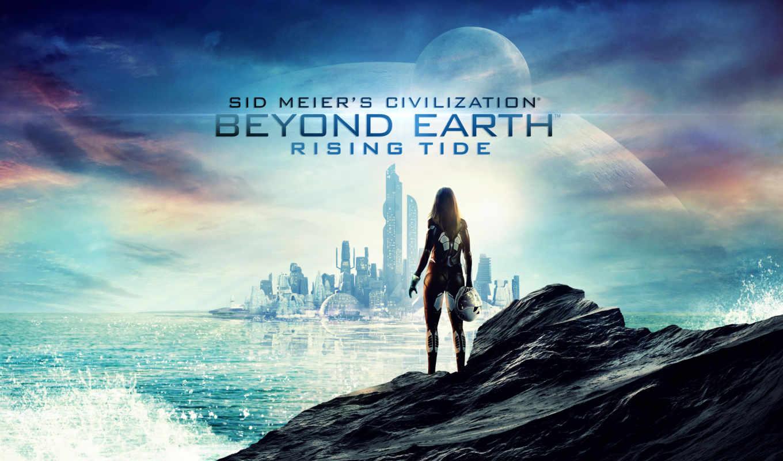 earth, beyond, civilization, rising, прилив, сид, meier,