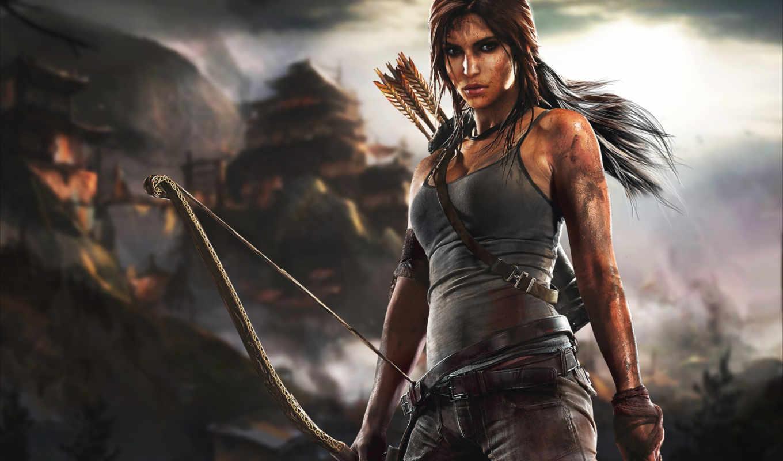 tomb, raider, lara, croft, game, dynamics, crystal, download,