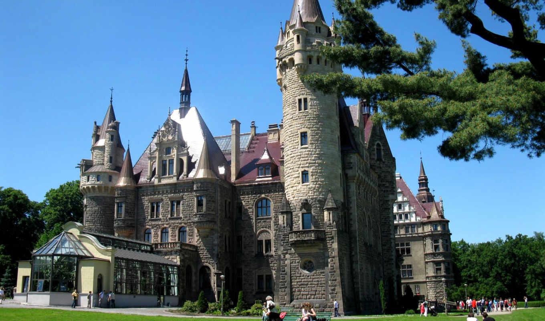 замки, мира, замков, дворцы, вышивки,