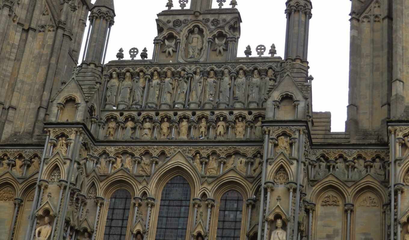 wells, cathedral,