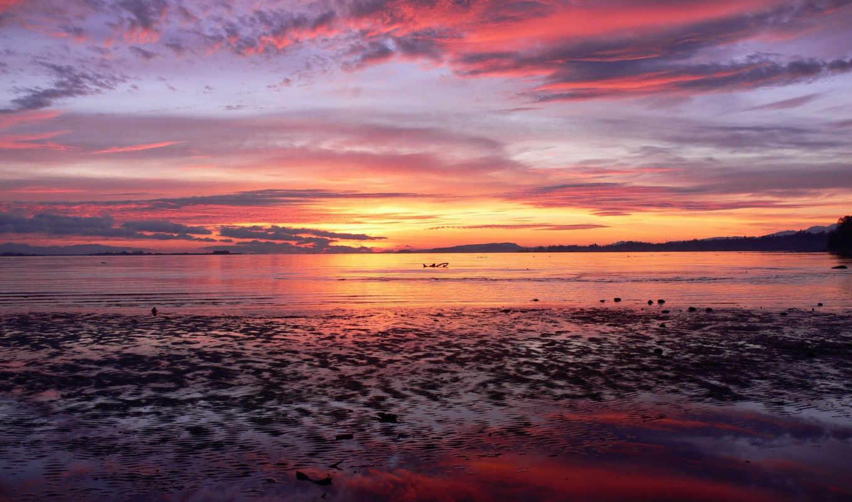 wallpaper, sunrise, рассвет, desktop, небо, море, free, wallpapers, comox, sunset, to, hd, and, nature, пейзажи, background, najlepše, slike, amazing,