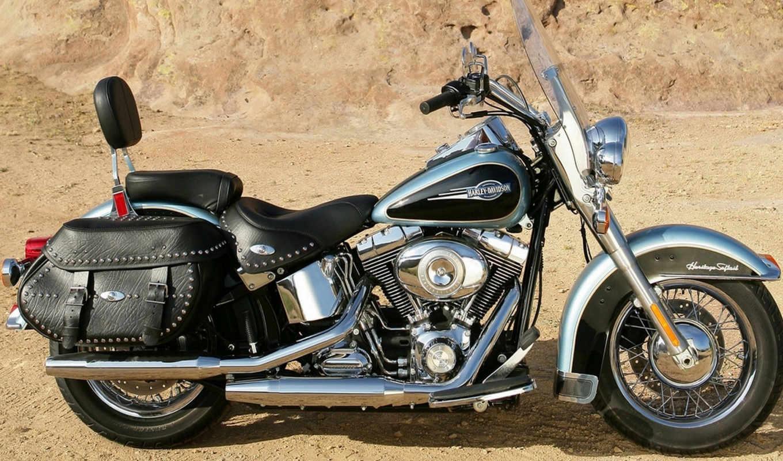 harley, davidson, softail, наследие, марки, мотоциклы, модели, самые, популярные, знаменитые, classic, лучших, flstc,