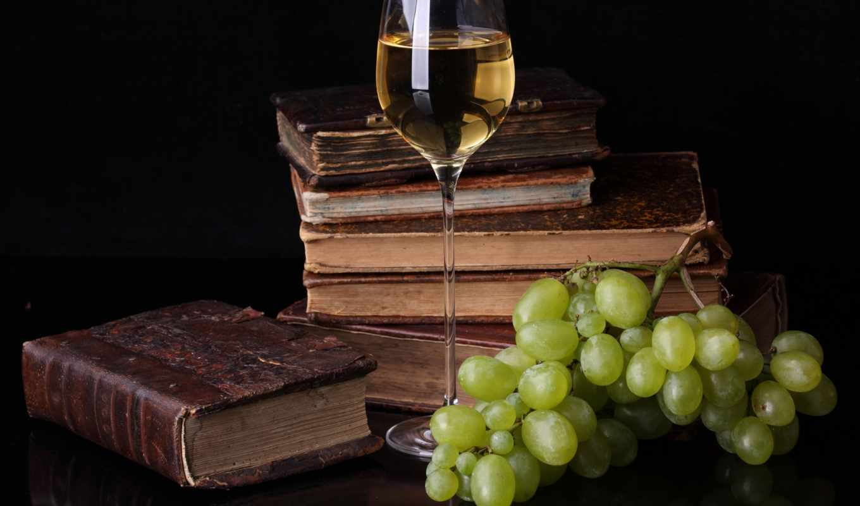 pulpit, winogrona, wino, tapet,
