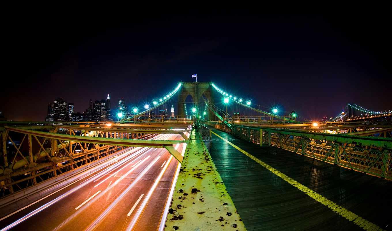 мост, дорога, красивый, дома, банка, tapety, мосты, строения,