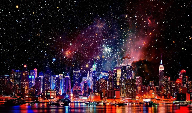 york, new, город, galaxy, cities, космос, galaxies, нью,