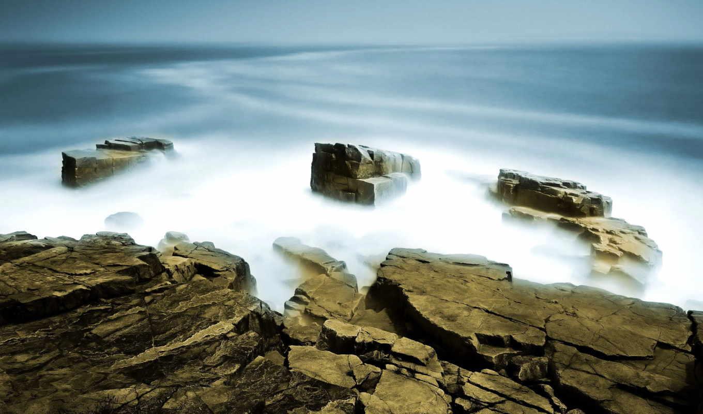 обои, туман, iko, природа, fog, wallpapers, черно,
