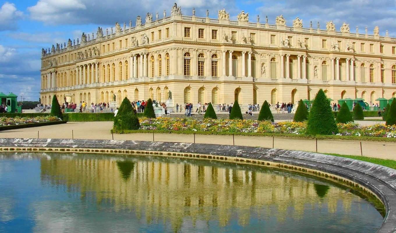 Дворец версаль  № 1743542  скачать