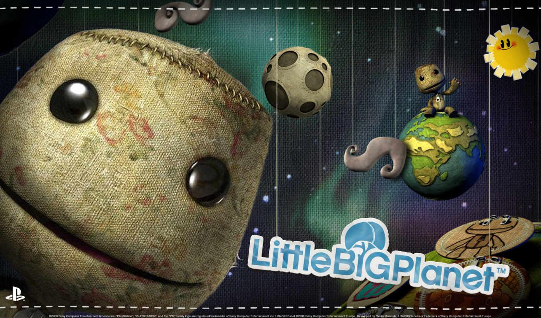 littlebigplanet, big, little, planet, vita, playstation, psp, lockscreen, sackboy, pour, theme,