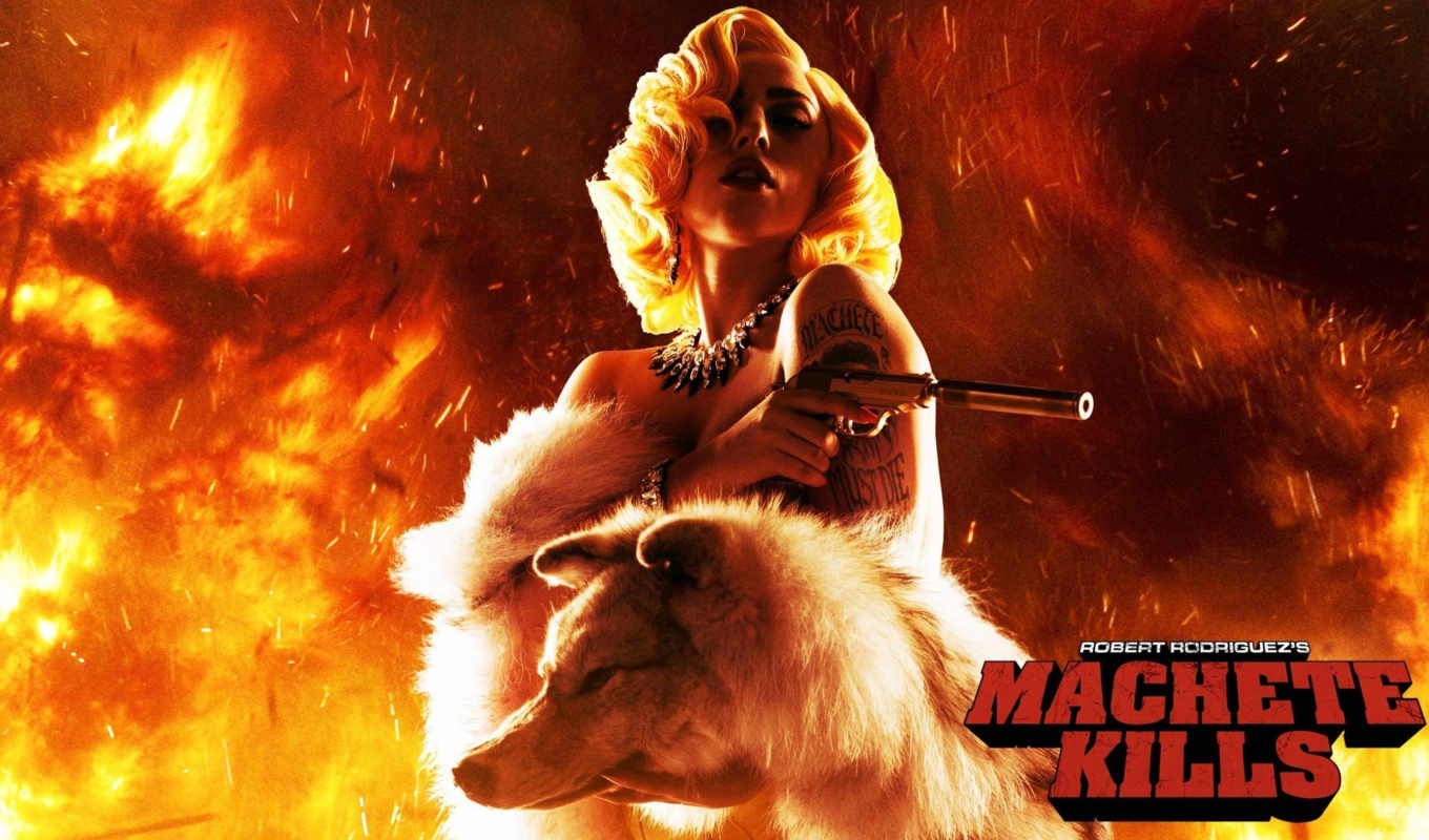 machete, gaga, lady, kills, resolution, desktop, download, background,
