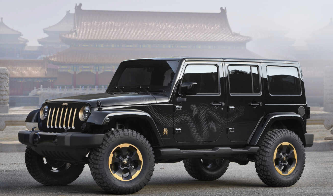 jeep, wrangler, dragon, concept, edition, design, download, details, exterior, китай,