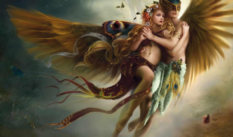 enamorados, angeles, imagenes, una, amor, que, imagen, ángeles, demonios, imágenes,