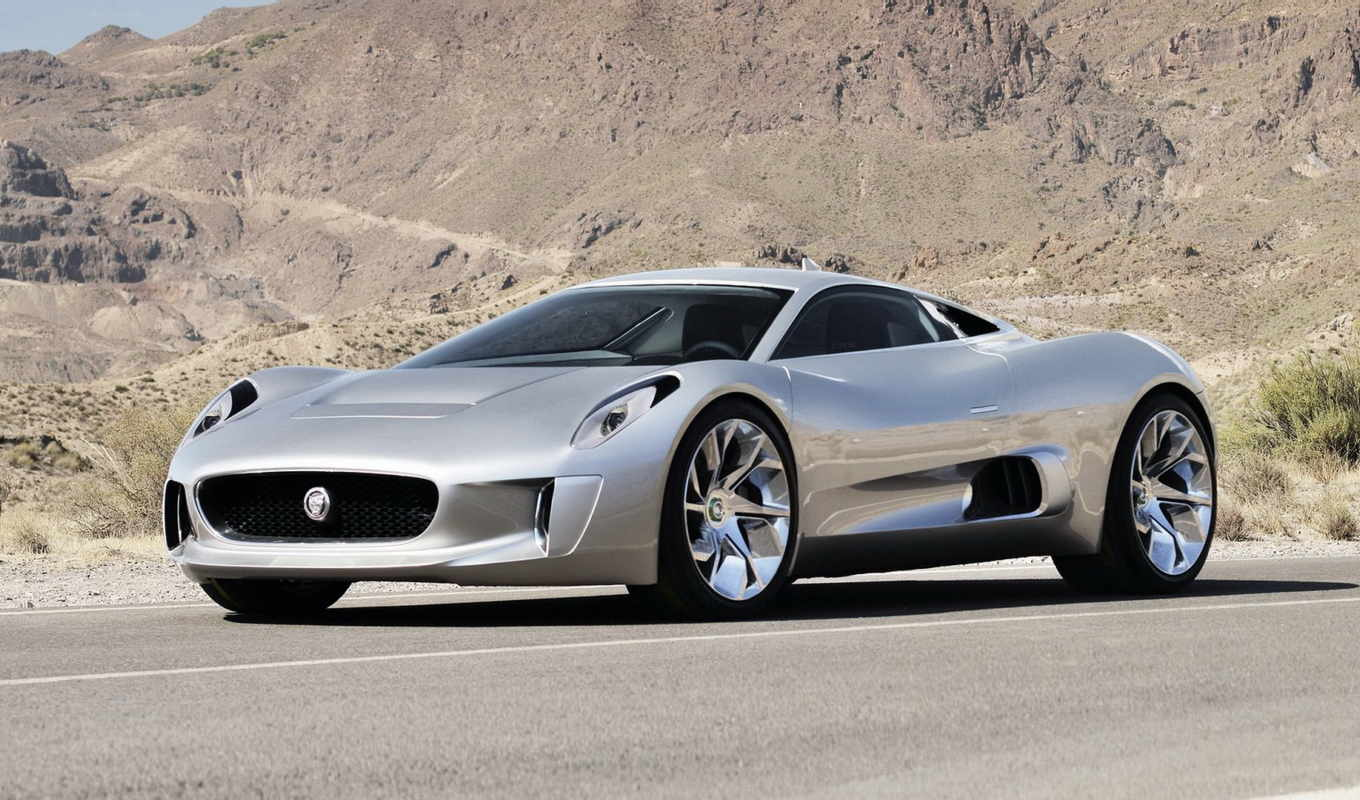 jaguar, supercar, concept, paris, new, motor,