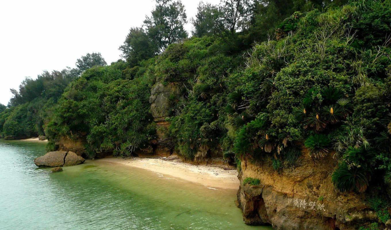 остров, част, горы, пейзажи -, mir, прекрасен, этот,