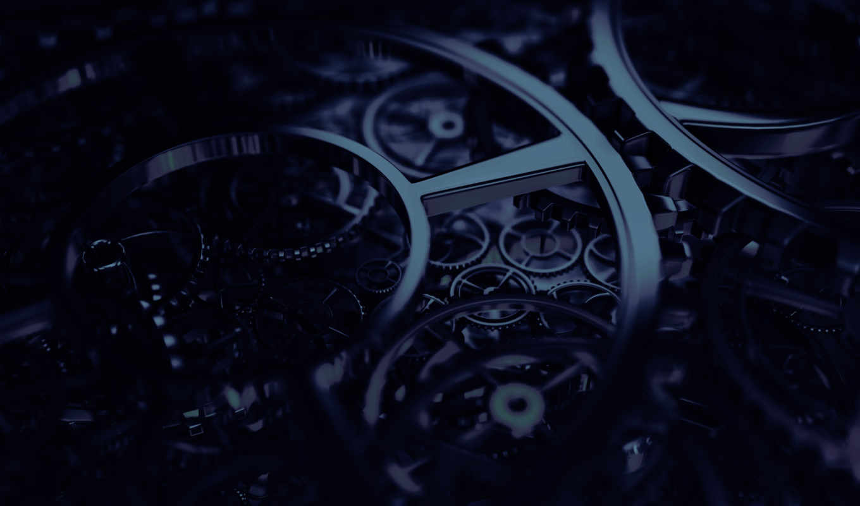 steampunk, часы, механизм