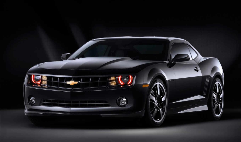 camaro, chevrolet, black, concept, desktop, авто, images, car, автомобили, bad,