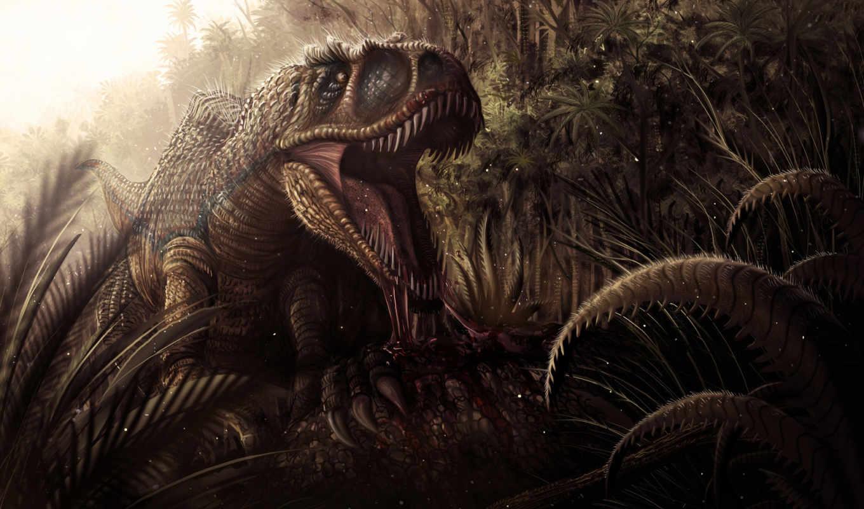 динозавр, similar, кровь, клыки, балла, пасть, colors, tags,