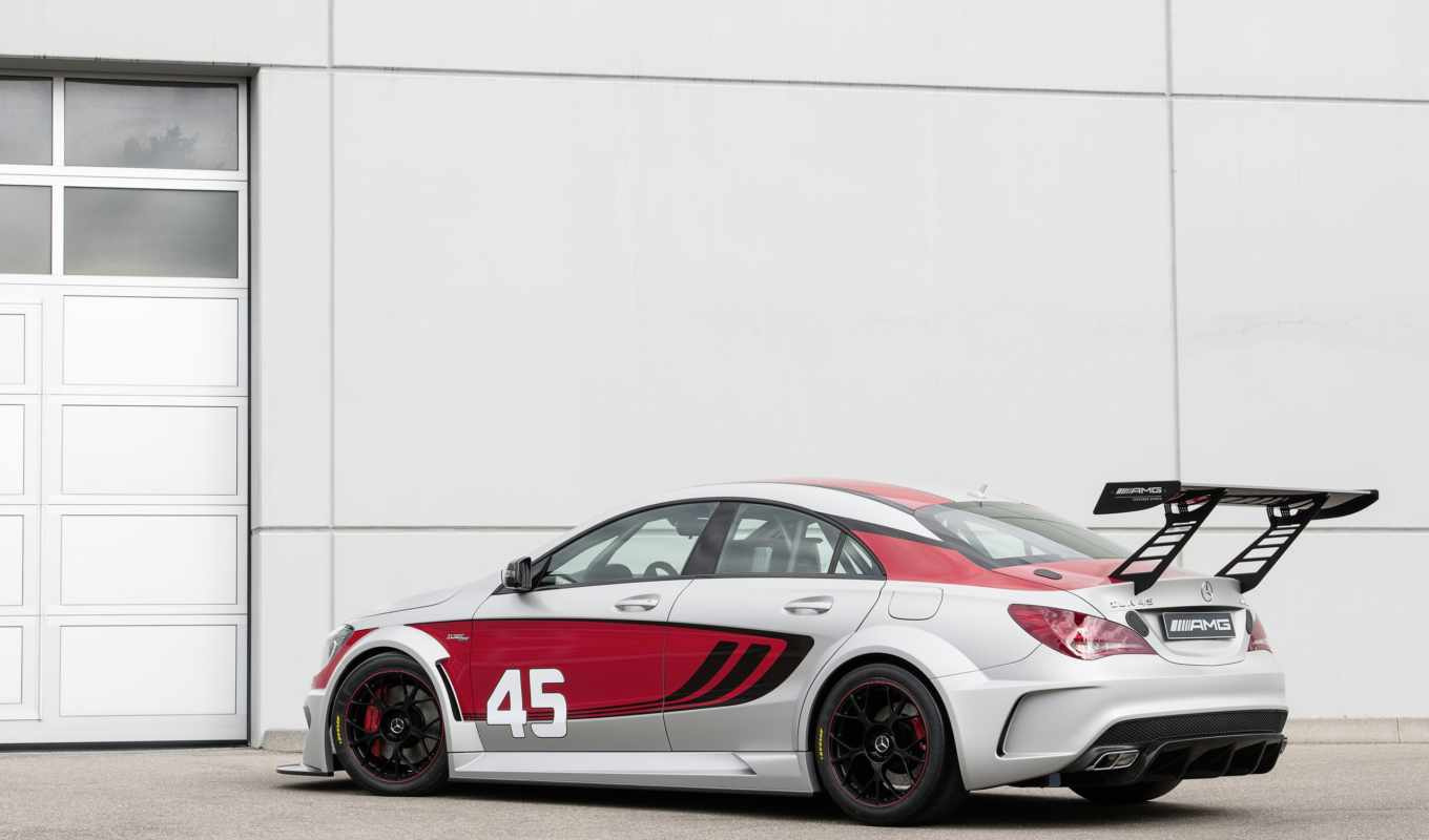 cla, mercedes, benz, amg, racing, серия, спорт,