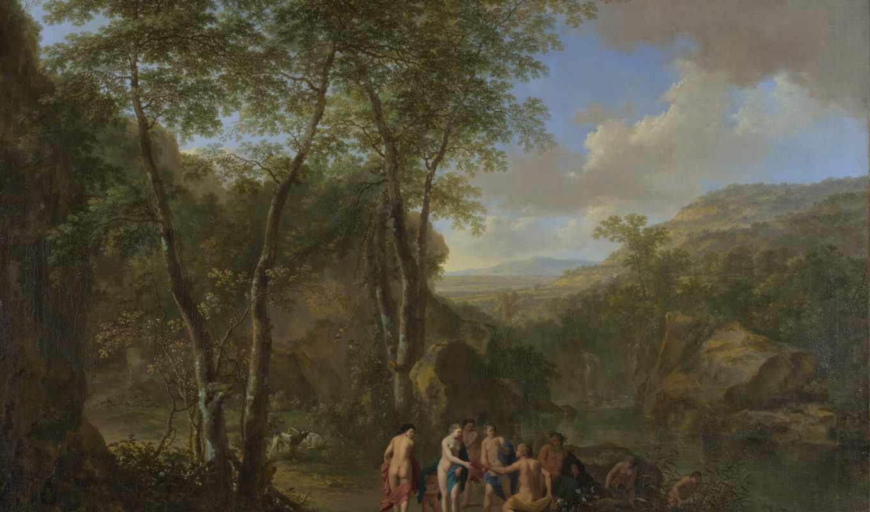 cornelis, poelenburgh, ван, landscape, янв, both,
