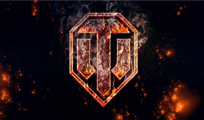wot,логотип,мир танков,огонь,