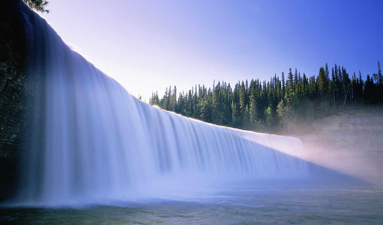 landscape, музыка, природа, водопады, ping,