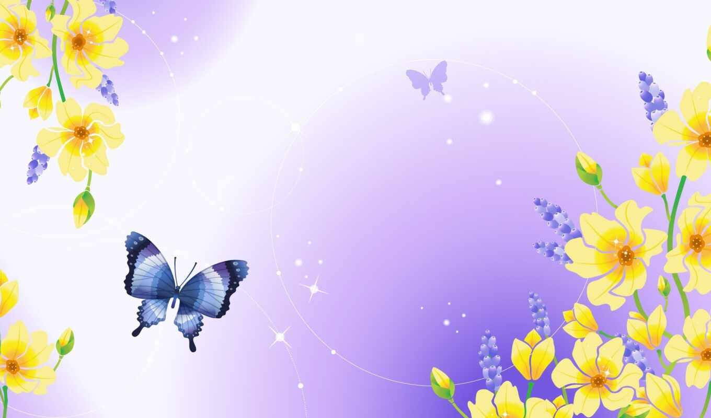 mariposas, flores, pantalla, fondos, mariposa,
