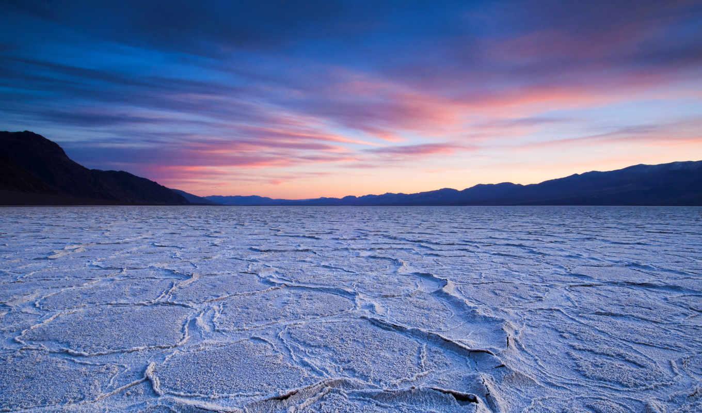 небо, dry, пустыня, закат,