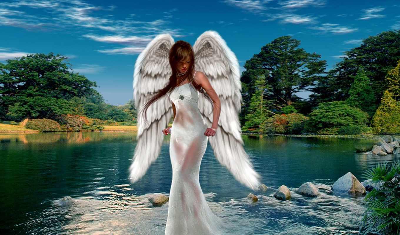 angel, angels, fantasy, pinterest, art, об, guardian,