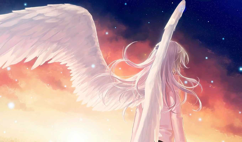 anime, ритмы, ангельские, angel, art, beats, blue, анна, категории,