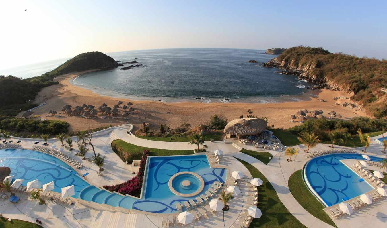 resort, huatulco, спа, secrets,