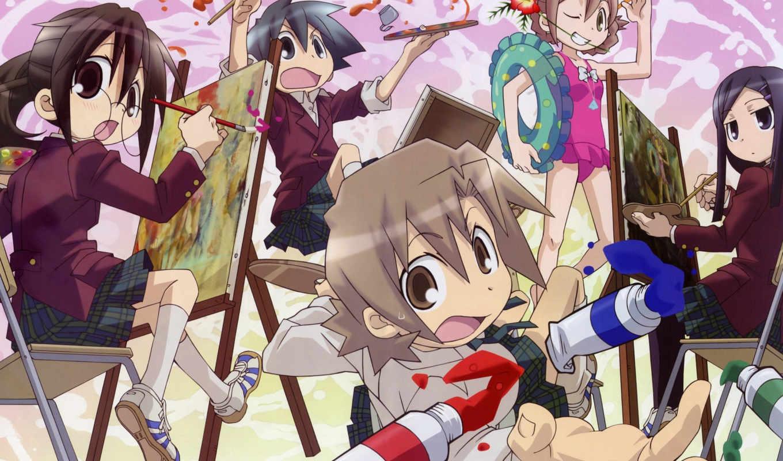 anime, class, дизайна, искусствоведения, art, department, кавай,