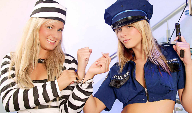 devushki, девушек, подборка, красивых, оружие, наручники, девушка, заключенная,