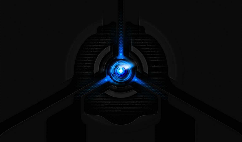 квази, черный фон звезда