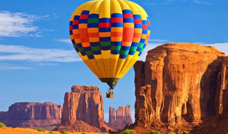 air, hot, balloon, пустыня, мяч, balloons,