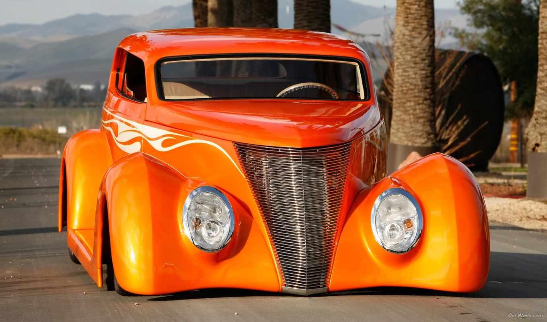 ретро, тюнинг, автомобилей, car, classic, ford, авто, cars,