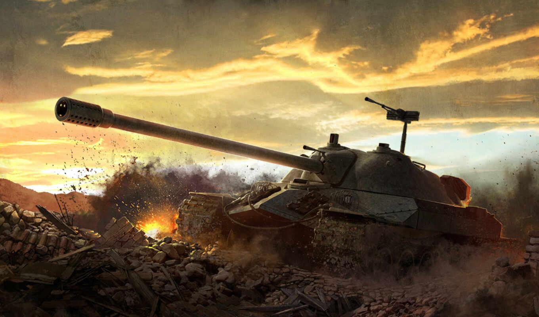 tanks, танков, ис7, iphone, wot, ис, game, ис-7, взрыв, картинка, бой, танк,